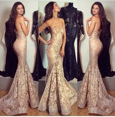 Michael Costello gold mermaid