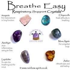 Oh good, I can stop using my inhalers, nebuliser and pain killers and just carry these around and my copd will no longer be a problem. WHAT A LOT OF FUCKING NONSENSE. Crystal Healing Chart, Crystal Guide, Crystal Magic, Crystal Shop, Healing Crystals, Healing Rocks, Healing Heart, Healing Crystal Jewelry, Chakra Crystals