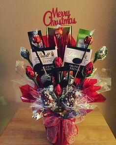 A candy bouquet for the music lover!