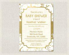 Etsy で見つけた素敵な商品はここからチェック: https://www.etsy.com/jp/listing/255199019/baby-shower-invitation-gold-elegant-gold