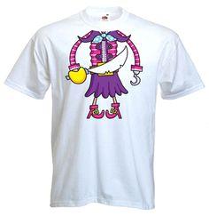 fancy shirts | Pirate Girl Fancy Dress T-Shirt