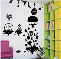 Wall stickers : Domestic ® vente de stickers muraux, autocollants muraux, sticker décoratif, décors muraux, décoration d'intérieure, sticker mural, vynil et autocollant pour les murs