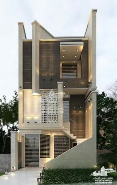 Top 30 Modern House Design Ideas For 2020 - Engineering Discoveries New Modern House, Modern Small House Design, House Design Photos, Minimalist House Design, Modern House Plans, 3 Storey House Design, Bungalow House Design, House Front Design, Modern Bungalow