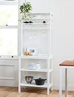 furniture Oak Shelves, Floating Shelves, Mid Century Bathroom, Oversized Furniture, Kiln Dried Wood, Bathroom Hardware, Custom Rugs, Mid Century Design, Counter Stools