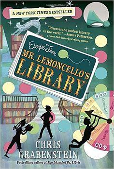 Amazon.com: Escape from Mr. Lemoncello's Library (0884448511263): Chris Grabenstein: Books
