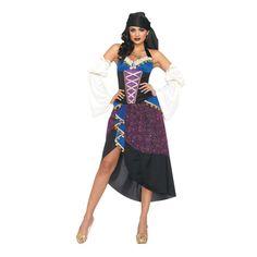 Tarot Card Gypsy Halloween Costume for Women