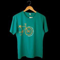 Blusas e Camisetas : Camiseta Bicicleta