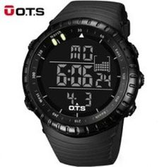 OTS Cool Black Large Face LED Digital Watches For Men http://ift.tt/2u5LG0j  #watches #watchesmen #watch #menwatches #watchesonline #onlinewatches #wristwatches #gentswatch #myinstagram
