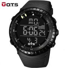 OTS Cool Black Large Face LED Digital Watches For Men http://ift.tt/2u5LG0j  #watches #watchesmen #watch #menwatches #watchesonline #onlinewatches #wristwatches #gentswatch #myinstagram