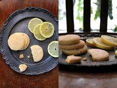 Biscotti al mais e limone