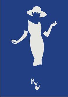 Cool restroom sign - Casino Women