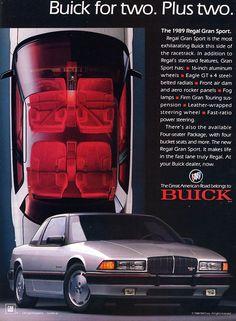 1989 Buick Regal Grand Sport - Productioncars.com