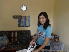 ironing in Africa