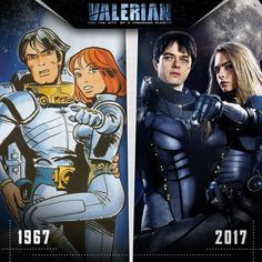 Valerian is going to be big next summer, and in the build up we're seeing some wonderful art and design work to promote it. Here's a selection.