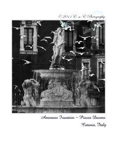 Fountain Amenano- Catania, Italy