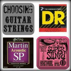 Choosing Guitar Strings - Play4TheWorld.com