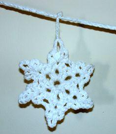 crochet snowflake :  attic24.typepad.com