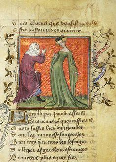 Roman de la Rose, MS M.245 fol. 27r - Images from Medieval and Renaissance Manuscripts - The Morgan Library & Museum