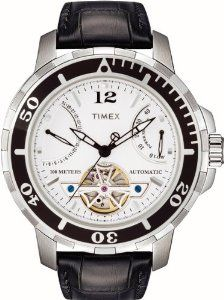 Timex T2M515 Mens Automatic Chronograph Black Leather Strap Watch Timex. $114.99. Save 34% Off!