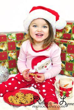 Studio Christmas mini session, baby, toddler, kids, milk and ...