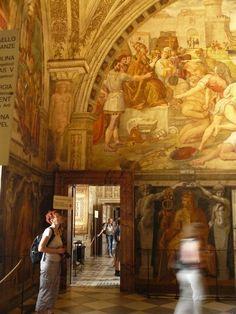 Stanze di Raffaello di Raffaello Sanzio - Descrizione dell'opera e mostre in corso - Arte.it