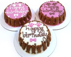 peanut butter carrot dog pink cake Birthday Treats, Happy Birthday Cakes, Dog Birthday, Healthy Gourmet, 50th Cake, Cake Writing, Dog Bakery, Types Of Cakes, Natural Peanut Butter