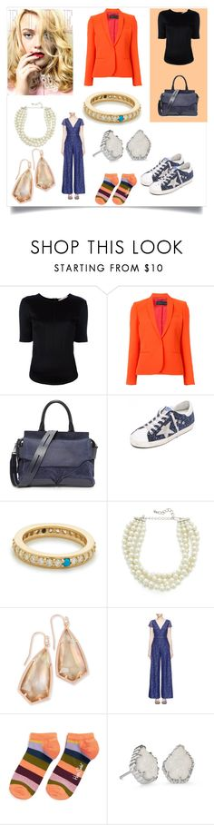 """""""Day Dream fashion"""" by denisee-denisee ❤ liked on Polyvore featuring A.F. Vandevorst, Barbara Bui, rag & bone, Golden Goose, Fayt Jewelry, Kenneth Jay Lane, Kendra Scott, Alice + Olivia and Happy Socks"""