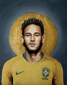 - Football Icon Art Print by David Diehl Football Art - X-Small Football Neymar, Art Football, God Of Football, Soccer Art, Football Icon, Soccer Poster, David Diehl, David Beckham Football, Messi And Neymar