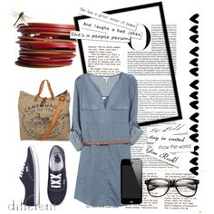 """go to campus"" by yolandamahbub on Polyvore"