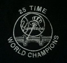 NY Yankees  25 Time World Champions  Black Wool and Leather Bomber Jacket XL | eBay