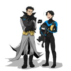 Bruce and dick and cats