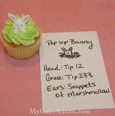 Pop-up Bunny Cupcakes! I'm totally trying these this weekend.