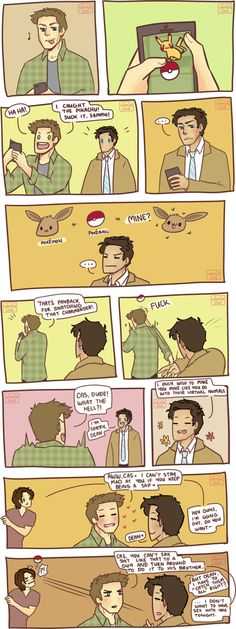 SPN Pokemon GO by vinnie-cha.deviantart.com on @DeviantArt