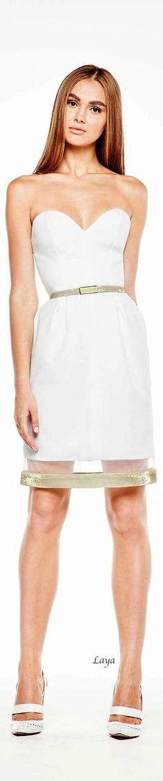 Georges Hobeika S/S 2015 jαɢlαdy Cool Outfits, Fashion Outfits, Womens Fashion, Fashion Trends, Estilo Glamour, Online Fashion Magazines, White Fashion, Classic Fashion, Georges Hobeika