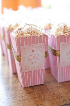 Love this idea for wedding favors!