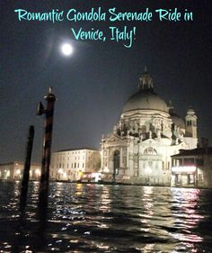 Experiencing Venice by moonlight during our memorable gondola serenade ride with Tinggly Experiences