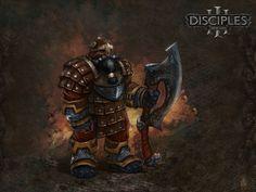 GoF - Disciples III | Dwarwen Sketches I - D3:M.Clans -Druid Grove