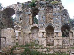 Aydın, Sultanhisar, Nysa, Kütüphane – Nysa, Tarihi kalıntıları