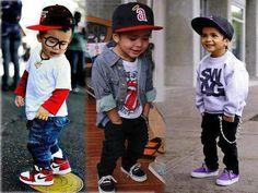 Boy has swag