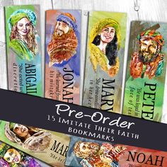 These bookmarks are perfect for you, your friends and family, so that we can mark our place with our FAVOURITE character in the book.