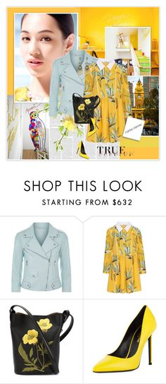 """Sunny Yellow"" by rainie-minnie ❤ liked on Polyvore featuring Rebecca Minkoff, Fendi, STELLA McCARTNEY and Yves Saint Laurent"