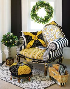 MacKenzie-Childs | Queen Bee Furniture Collection