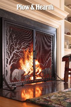 Plow Hearth Fireplace Screens Come In Many Styles Screens With