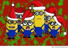 Minions especial Navidad para Imprimir Gratis. - Ideas y material gratis para fiestas y celebraciones Oh My Fiesta!