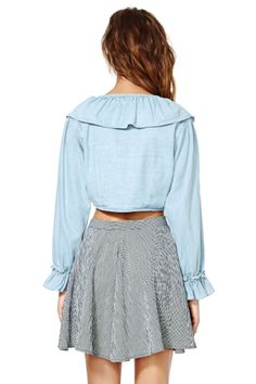 Blank NYC What's Shakin' Top   Shop Tops at Nasty Gal