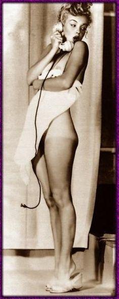 Marilyn Monroe. Just felt this belonged on this board instead of Vintage Women.