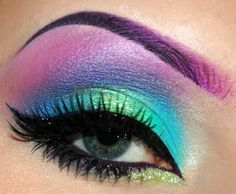 AHHHHH! i absolutely LOVE love love candy colored eye makeup