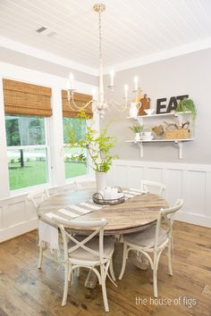 LOVE these wood floors  The Montgomery House - Dining Room Small_0 WM
