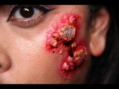 Halloween Makeup: Blisters, & boils tutorial with out buying a prosthetic