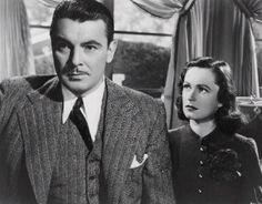 "George Brent and Geraldine Fitzgerald, ""Dark Victory"" [1939]."